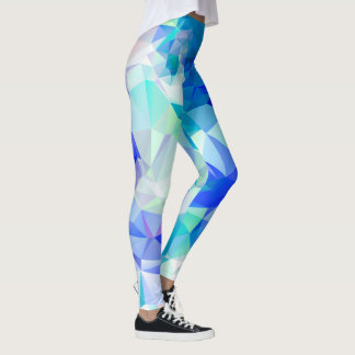Abstract Geometry Leggings