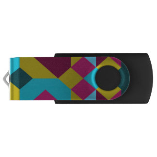 Abstract Geometry USB Flash Drive