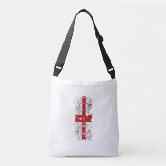 Abstract Georgia Flag, Georgian Flag Bag