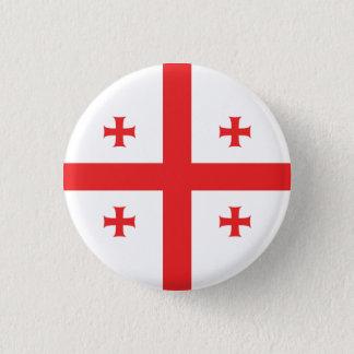 Abstract Georgia Flag, Georgian Flag Button