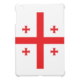 Abstract Georgia Flag, Georgian Flag iPad Mini Cases