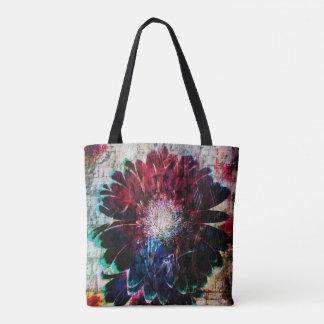 Abstract Gerbera Daisy Tote Bag