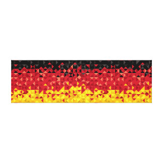 Abstract Germany Flag, German Colors, Canvas Art