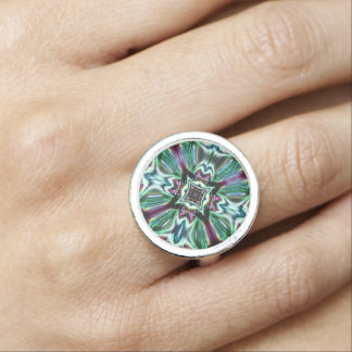 Abstract Glass Jewel Effect  2 Design