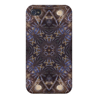 Abstract glass plate pattern case for iPhone 4