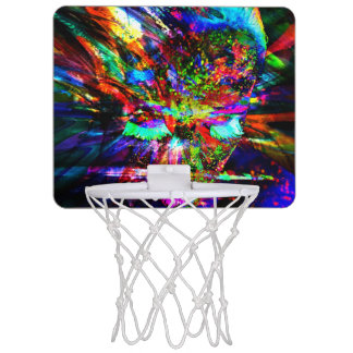 Abstract Goddess Mini Basketball Hoop