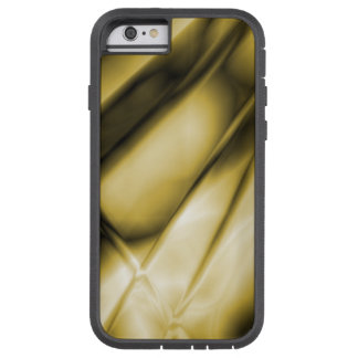 Abstract Gold  Colored iPhone Tough Case