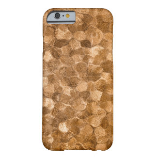Abstract Gold Copper Background Barely There iPhone 6 Case
