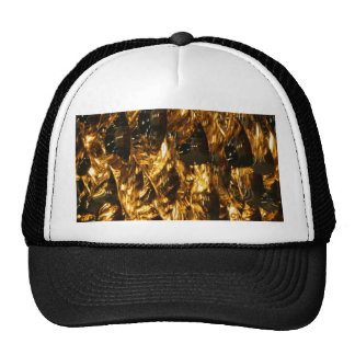 Abstract - gold leaf hats