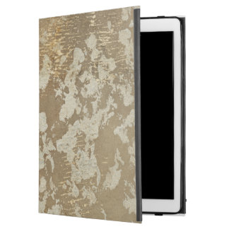 """Abstract Gold Painting with Silver Speckles iPad Pro 12.9"""" Case"""