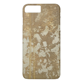 Abstract Gold Painting with Silver Speckles iPhone 8 Plus/7 Plus Case