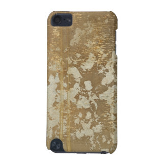 Abstract Gold Painting with Silver Speckles iPod Touch (5th Generation) Covers