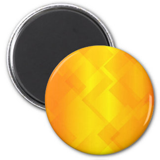 Abstract Golden Background 6 Cm Round Magnet