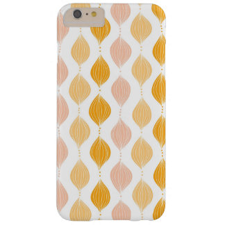 Abstract golden ogee pattern background barely there iPhone 6 plus case