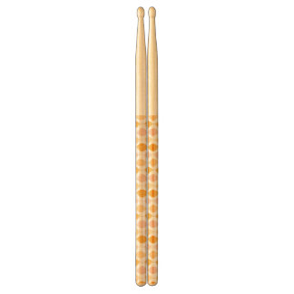 Abstract golden ogee pattern background drumsticks