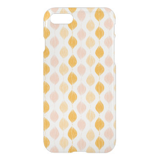 Abstract golden ogee pattern background iPhone 8/7 case
