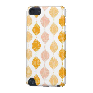 Abstract golden ogee pattern background iPod touch 5G case