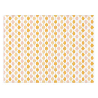 Abstract golden ogee pattern background tablecloth
