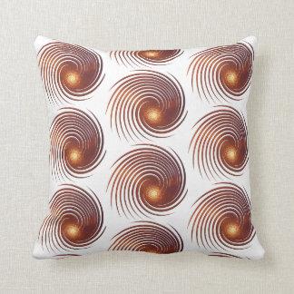 Abstract golden spiral. cushion