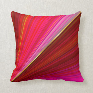 Abstract gradient red texture. cushion