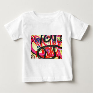 abstract graffiti background baby T-Shirt