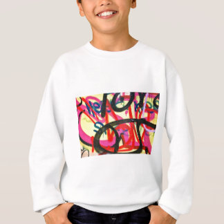 abstract graffiti background sweatshirt