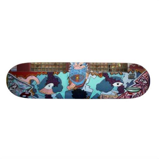 Abstract Graffiti Broken Windows Skateboards
