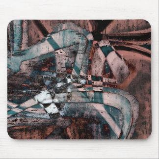 Abstract graffiti mouse mat