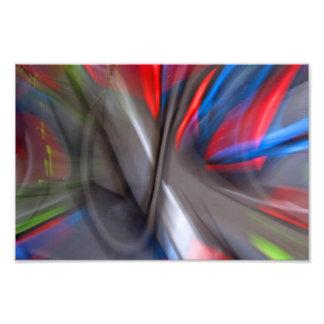 Abstract Graffiti Photo Print