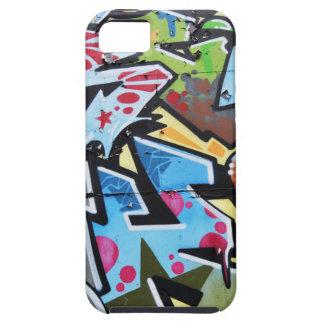 Abstract graffiti tough iPhone 5 case