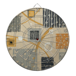 Abstract Graphic Tiles Dartboard
