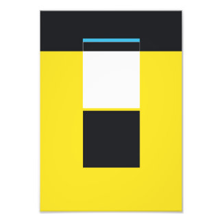 Abstract Graphics Photo Print