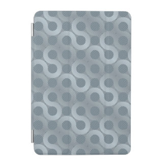 Abstract gray flow background iPad mini cover