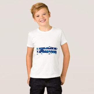 Abstract Greece Flag, Greek Artwork Polygon Shirt