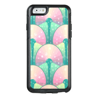 Abstract Green And Pink Seamless Pattern OtterBox iPhone 6/6s Case