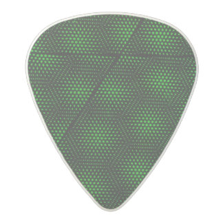 Abstract Green Background Acetal Guitar Pick