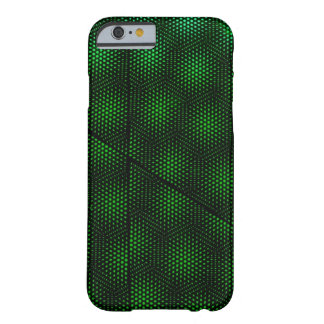 Abstract Green Background Barely There iPhone 6 Case