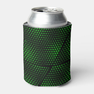 Abstract Green Background Can Cooler