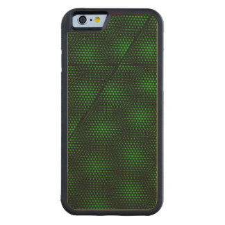 Abstract Green Background Carved Maple iPhone 6 Bumper Case