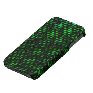 Abstract Green Background Case For iPhone 4