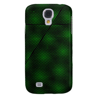 Abstract Green Background Galaxy S4 Case