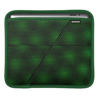 Abstract Green Background iPad Sleeve