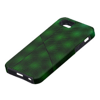 Abstract Green Background iPhone 5 Cover