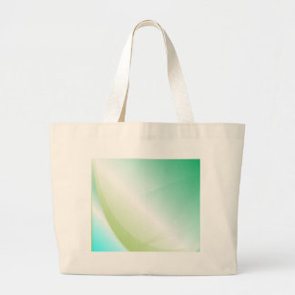 Abstract Green Background Large Tote Bag