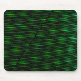 Abstract Green Background Mouse Mat