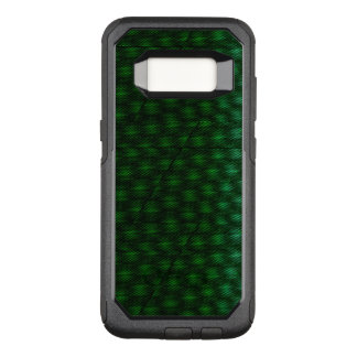 Abstract Green Background OtterBox Commuter Samsung Galaxy S8 Case