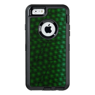 Abstract Green Background OtterBox Defender iPhone Case