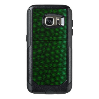 Abstract Green Background OtterBox Samsung Galaxy S7 Case