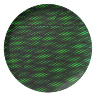 Abstract Green Background Plate