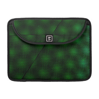 Abstract Green Background Sleeve For MacBooks